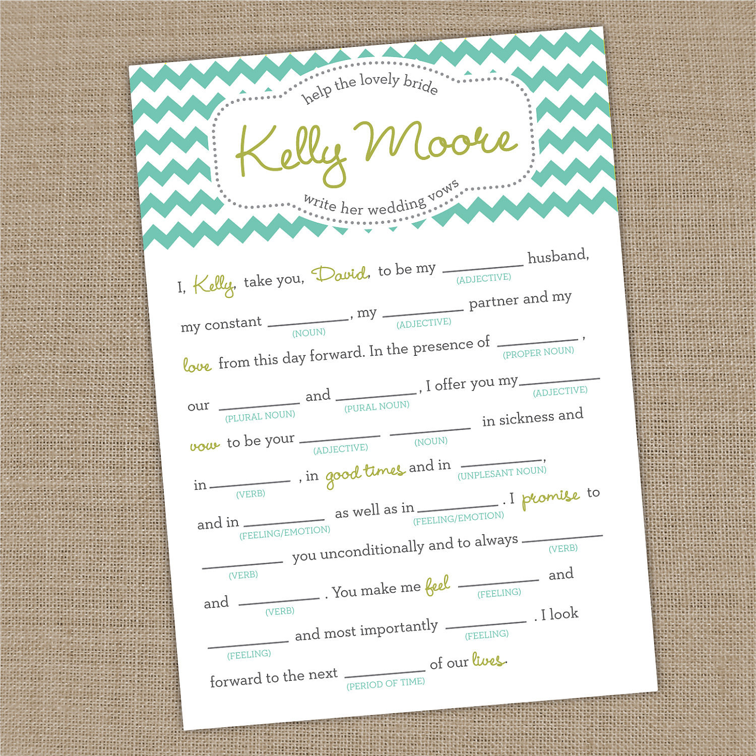 Wedding vows on pinterest wedding vows vows and funny for Vow writing template